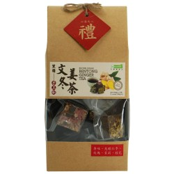 BROWN SUGAR BENTONG GINGER TEA 手工制黑糖文冬姜茶